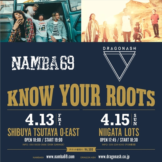 NAMBA69 x Dragon Ash
